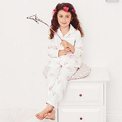 Mia Floral Flannel Pyjamas
