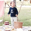 Tipped Anchor Sweater
