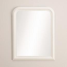 Madison Wall Mirror - White