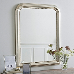 Madison Wall Mirror - Champagne Silver