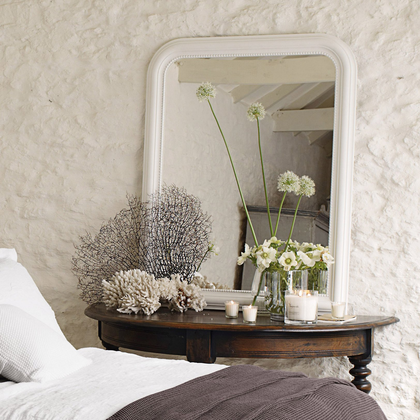 Silver Mirrors For Bedroom Mirrors Wall Floor Dressing Table Full Length The White