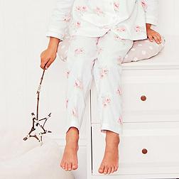 Mia Floral Flannel Pyjama Bottoms