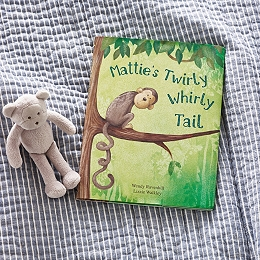 Mattie's Twirly Whirly Tail Book by Wendy Ravenhill