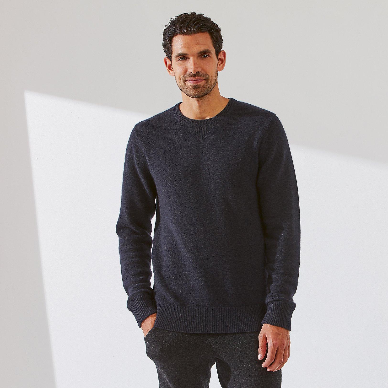 Men's Cashmere Sweater | Sleepwear | The White Company US