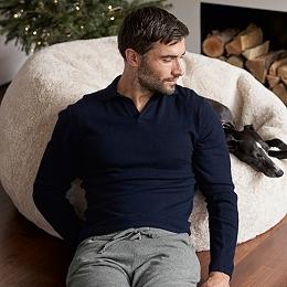 Merino Collar Sweater