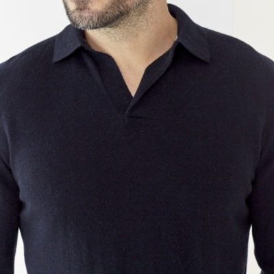 Merino Collar Sweater
