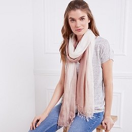 Ombre Scarf with Cashmere