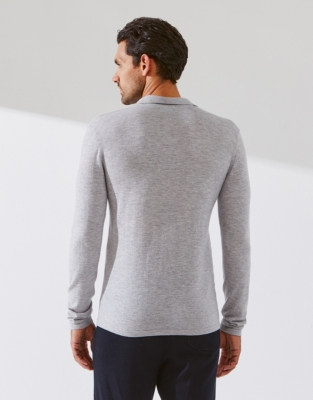 Men's Merino Collar Sweater