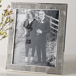 Mother of Pearl Charcoal Photo Frame 8x10''