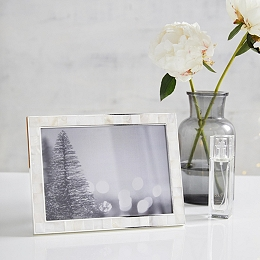"""Mother of Pearl Photo Frame 5x7"""""""