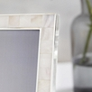 """Mother of Pearl Picture Frame 5x7"""""""