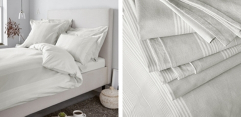 Monmouth Stripe Bed Linen Collection