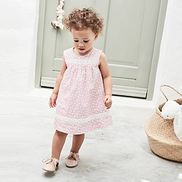 Mollie Lace Insert Dress