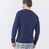 Pocket Henley Top - Navy