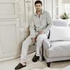 Men's Piped Pajama Set