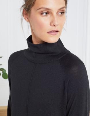 Merino Wool Knitted Dress