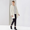 Merino Sheepskin Cocoon Coat