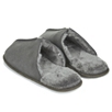 Men's Suede Mule Slippers - Dark Charcoal Marl