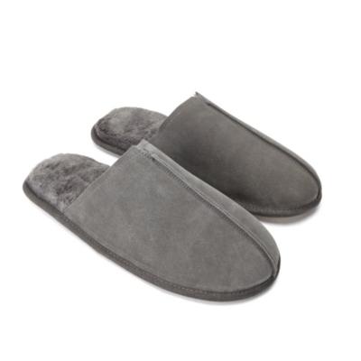 Men's Suede Mule Slippers