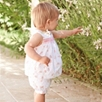 Mimi Floral Smocked Blouse and Bloomers