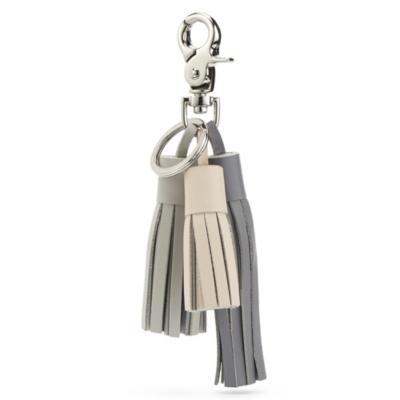 Multi Tassel Key Ring - Flint