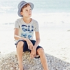 Surf Motif T-Shirt (4-10yrs)