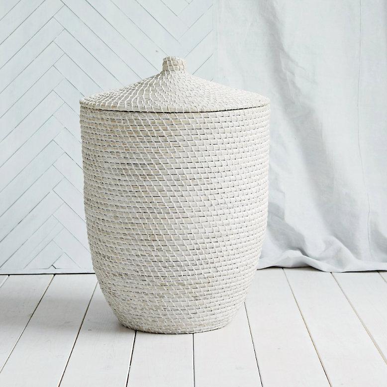 Image of The White Company Alibaba laundry basket