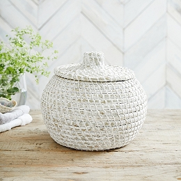 Alibaba Small Round Basket
