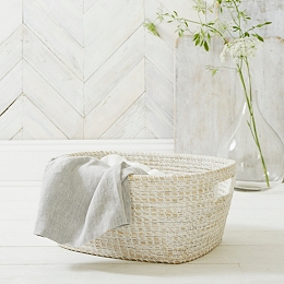Seagrass Laundry Trug