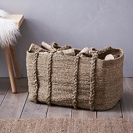 Large Fireside Basket