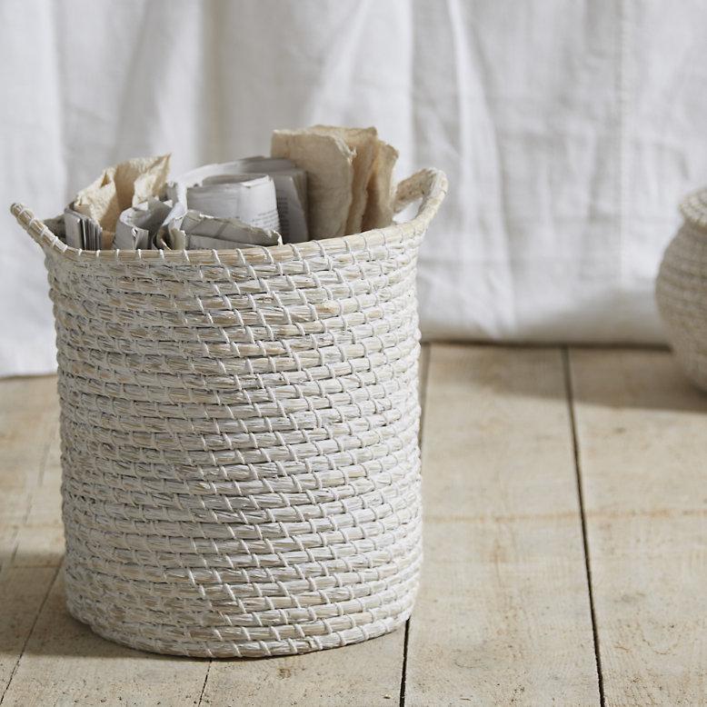 Image of The White Company Alibaba storage basket - small
