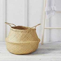 Soft Seagrass Basket