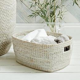 Seagrass Laundry Trug