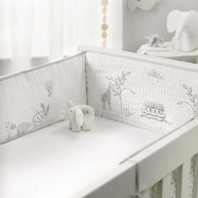Noah's Ark Cot Bumper | Nursery | Childrens' Bedroom | The ...