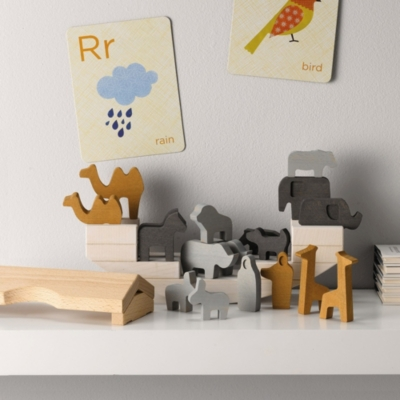 Wooden Noah's Ark Toy