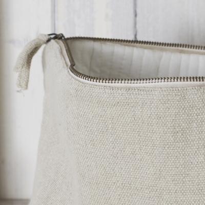 Natural Large Wash Bag