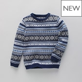 Fairisle Boys' Sweater