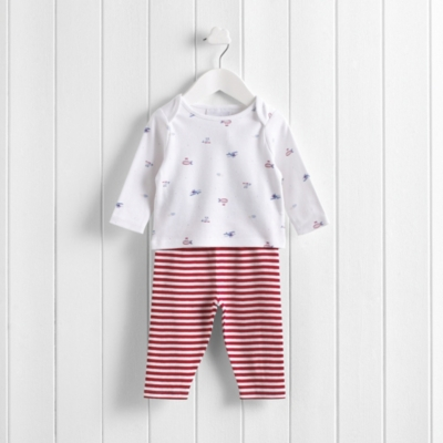Night Flight Baby Pyjamas - Multi