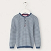 Fine Knit Henley Sweater