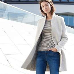 Coats & Jackets | Denim, Biker & Tailored | The White Company UK