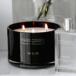 Image result for Noir Three Wick Candle white company