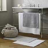 Nieve Bath Mat - Pearl Grey