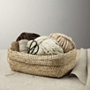 Rectangle Jute Basket