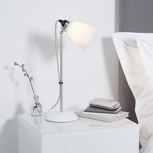 Original btc hector table lamp the white company uk original btc hector table lamp aloadofball Image collections