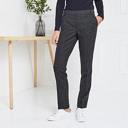 Oxford Flannel Slim Leg Pants