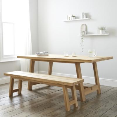 Oak Dining Table 6 8...