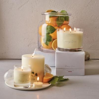 Orange Grove Pillar Botanical Candle