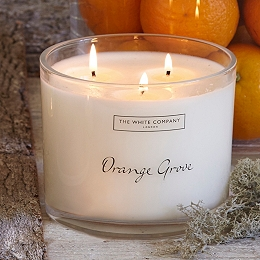 Orange Grove Large Candle
