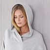 Oversized Neck Detail  Hoodie