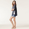 Open Side Cardigan - Navy